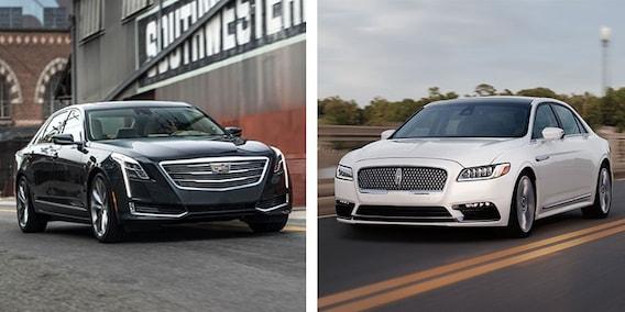 Lincoln Vs Cadillac >> Lincoln Continental Vs Cadillac Ct6 Lincoln Of Cincinnati