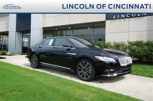 2018 Lincoln Continental Reserve Car in Cincinnati at Montgomery Lincoln