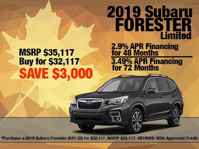 2019 Subaru Forester Limited Special
