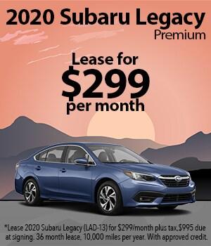 2020 Subaru Legacy Lease Special