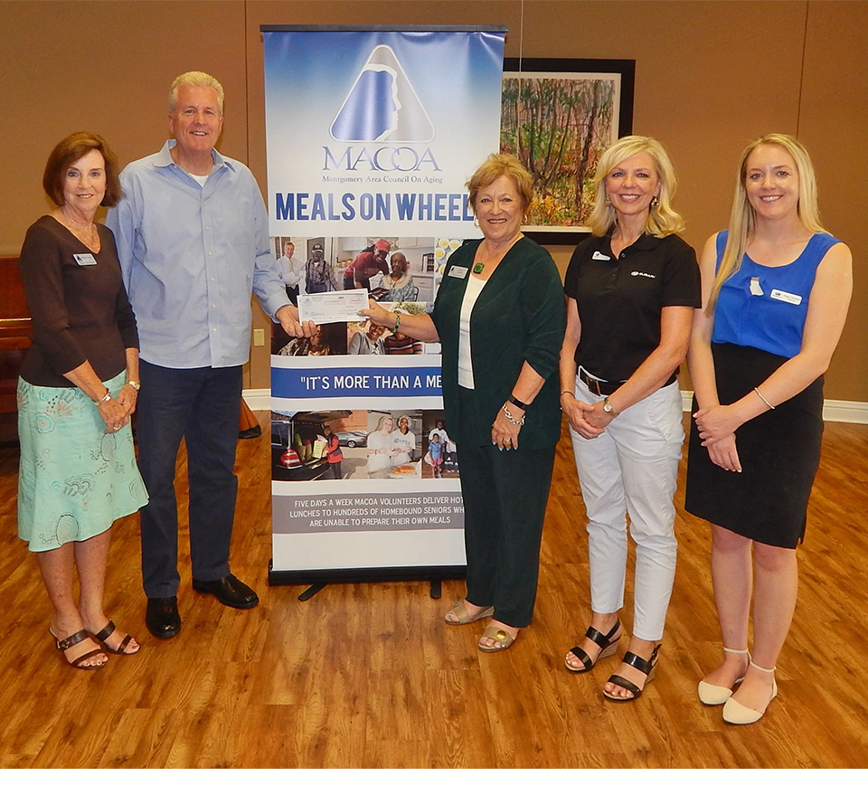 Meals on Wheels at Montgomery Subaru