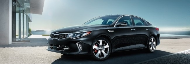 2018 Kia Optima in Ebony Black