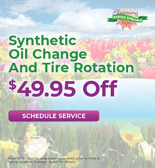 Oil Change and Tire Rotation April