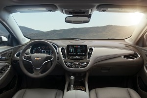 2016 Chevy Malibu Interior Features