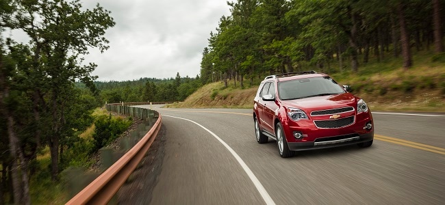 2015 Chevy Equinox in Crystal Red Tintcoat