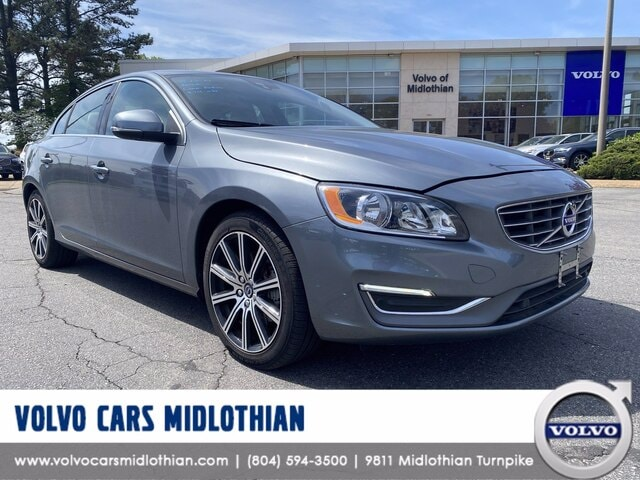 Featured pre-owned 2018 Volvo S60 T5 Sedan for sale in Midlothian, VA