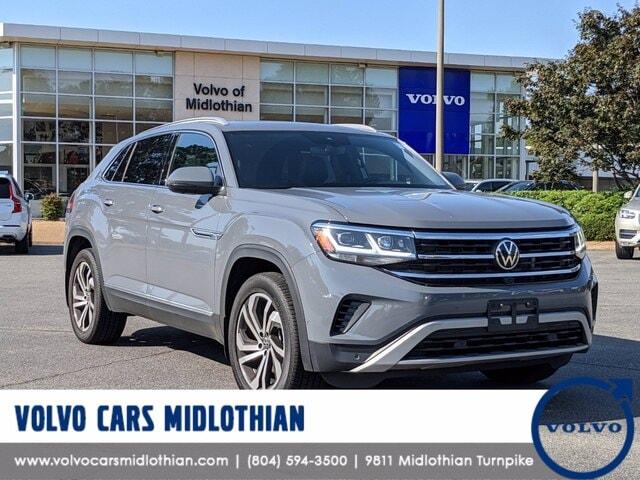 Featured pre-owned 2020 Volkswagen Atlas Cross Sport 3.6L V6 SEL Premium SUV for sale in Midlothian, VA