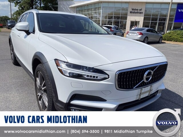 Featured pre-owned 2018 Volvo V90 Cross Country T6 AWD Wagon for sale in Midlothian, VA