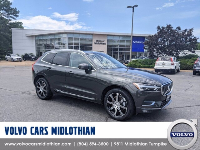 Featured pre-owned 2018 Volvo XC60 T6 Inscription SUV for sale in Midlothian, VA