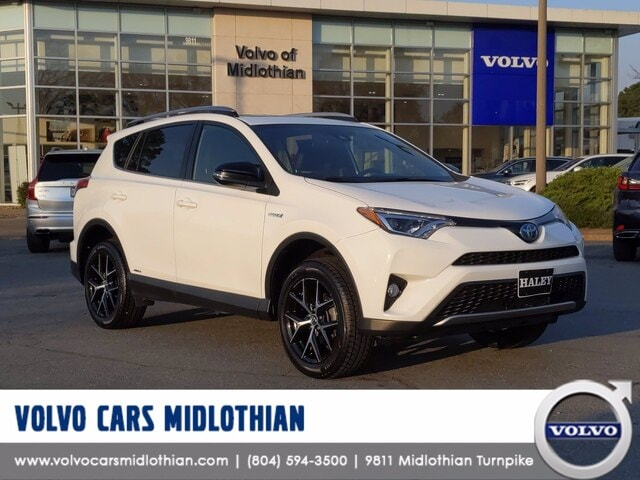 Featured pre-owned 2018 Toyota RAV4 SE SUV for sale in Midlothian, VA
