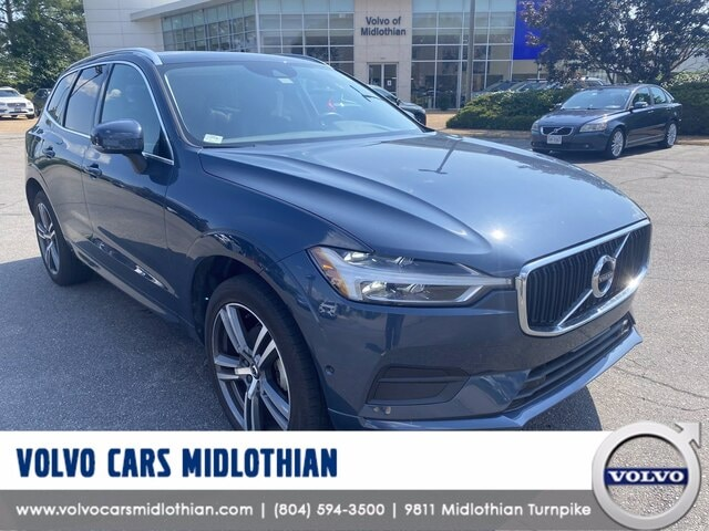 Featured pre-owned 2018 Volvo XC60 T5 Momentum SUV for sale in Midlothian, VA