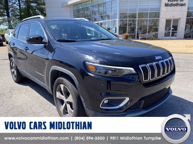Featured pre-owned 2019 Jeep Cherokee Limited SUV for sale in Midlothian, VA
