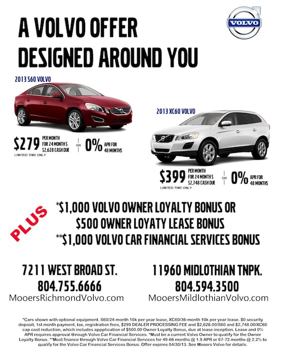 Spring New Car Special Volvo Cars Midlothian