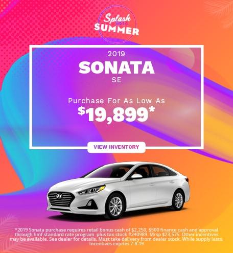 New 2019 Hyundai Sonata SE- 06/05/2019