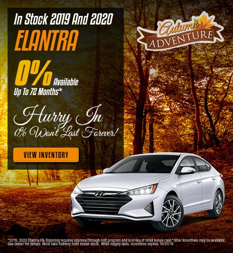 In Stock 2019 And 2020 Elantra 10/4/2019