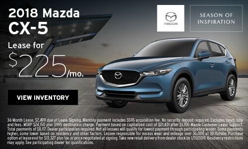 New 2018 Mazda CX-5