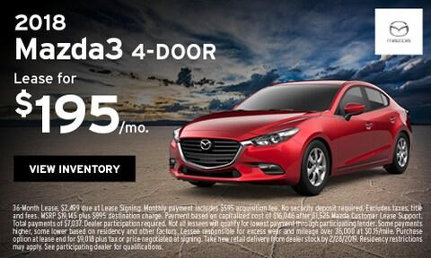 Lease 2018 Mazda3 2/6