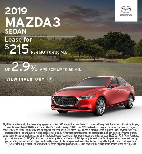 New 2019 Mazda3