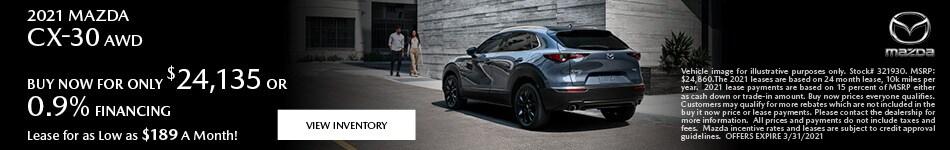 2021 Mazda CX-30 AWD
