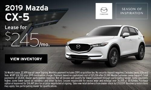New 2019 Mazda CX-5