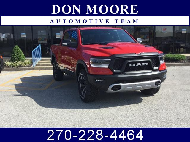 Featured New 2019 Ram All-New 1500 REBEL CREW CAB 4X4 5'7 BOX Crew Cab for Sale in Hartford, KY