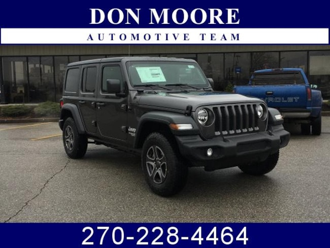 New 2019 Jeep Wrangler UNLIMITED SPORT S 4X4 Sport Utility Hartford, KY