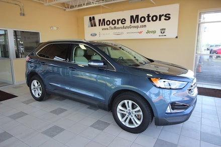 Featured used 2019 Ford Edge SEL SUV 2FMPK4J90KBB01145 for sale in Caro, MI