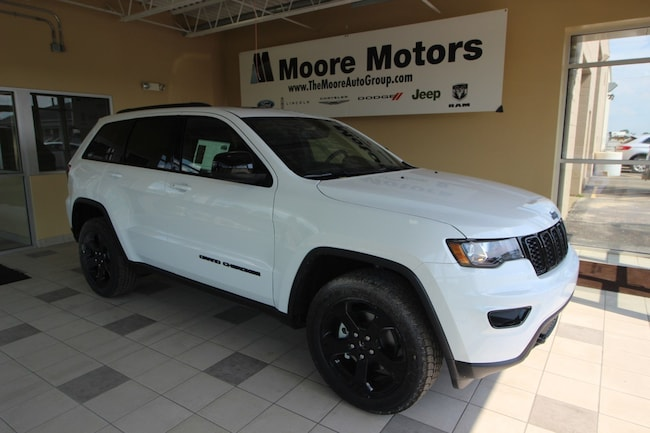 New 2018 Jeep Grand Cherokee UPLAND 4X4 Sport Utility For Sale in Caro, MI