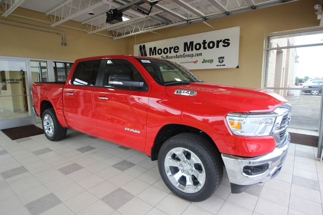 New 2019 Ram 1500 BIG HORN / LONE STAR CREW CAB 4X4 5'7 BOX Crew Cab For Sale in Caro, MI
