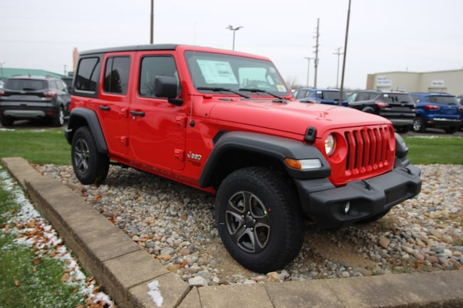 New 2018 Jeep Wrangler UNLIMITED SPORT S 4X4 Sport Utility For Sale in Caro, MI