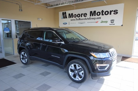 Featured new 2021 Jeep Compass LIMITED 4X4 Sport Utility for sale in Caro, MI