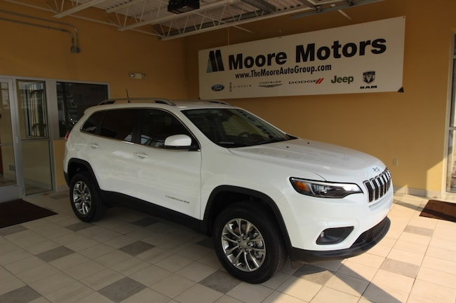 New 2019 Jeep Cherokee LATITUDE PLUS 4X4 Sport Utility For Sale in Caro, MI
