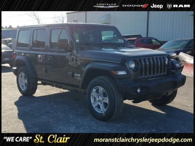 New 2019 Jeep Wrangler UNLIMITED SPORT S 4X4 Sport Utility For Sale St. Clair, Michigan