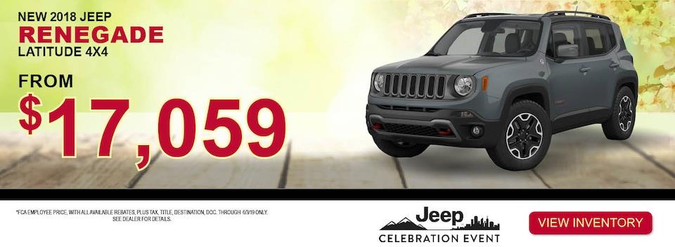 2018 Jeep Renegade Latitude 4x4 Special