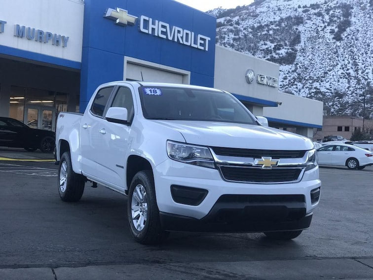 Used 2018 Chevrolet Colorado LT Truck Crew Cab in Durango, CO