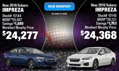 New 2020 Subaru Outback and Impreza Model