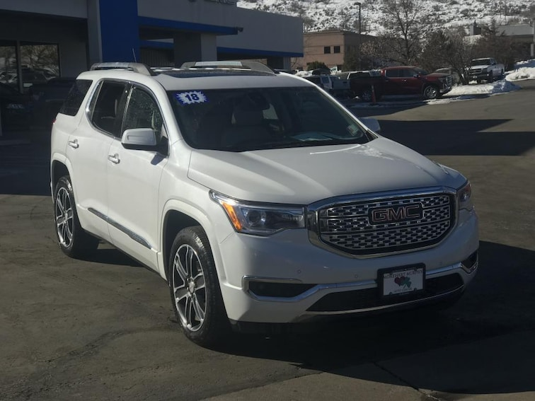 Used 2018 GMC Acadia Denali SUV in Durango, CO