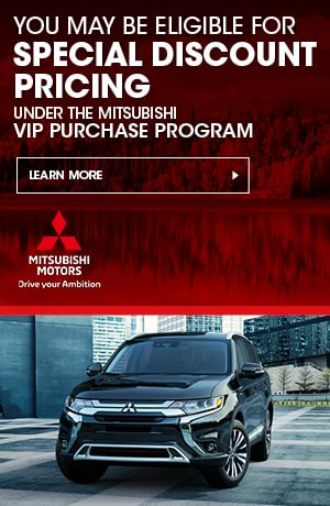 Special Discount Pricing Under the Mitsubishi VIP Purchase Program
