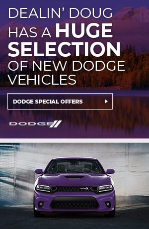 Huge Selection of New Dodge Vehicles