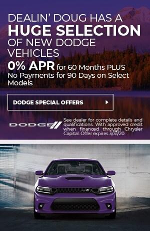 April Dodge Deals