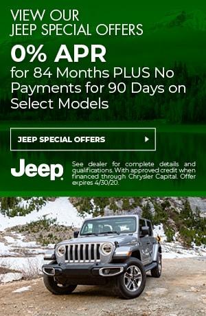 April Jeep Offers