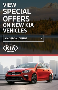 Special Offers on New Kia Vehicles