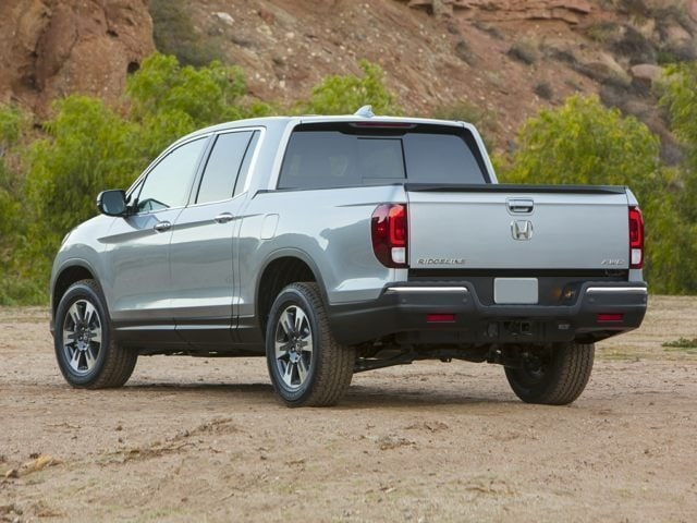 2018 Honda Ridgeline back view