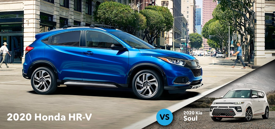 Honda HR-V vs Kia Soul