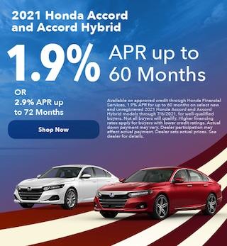 2021 Honda Accord and Accord Hybrid