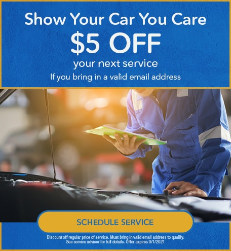 $5 Off Service - Show Your Car You Care