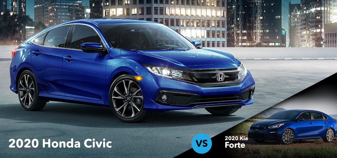 Honda Civic vs Kia Forte