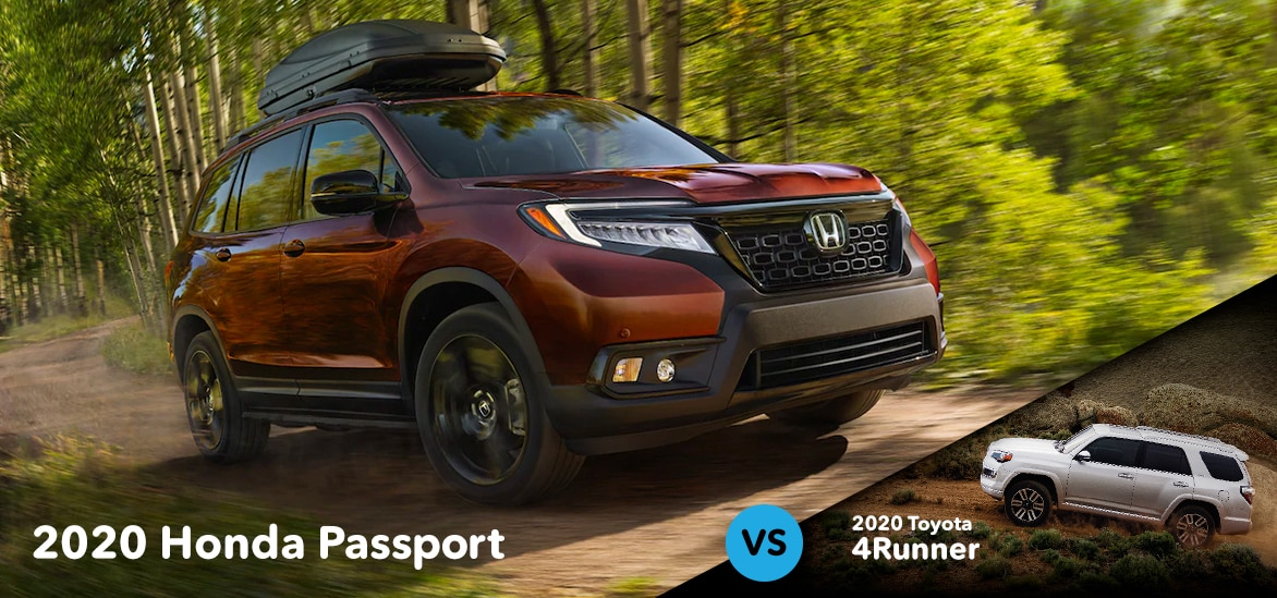 Honda Passport vs Toyota 4Runner