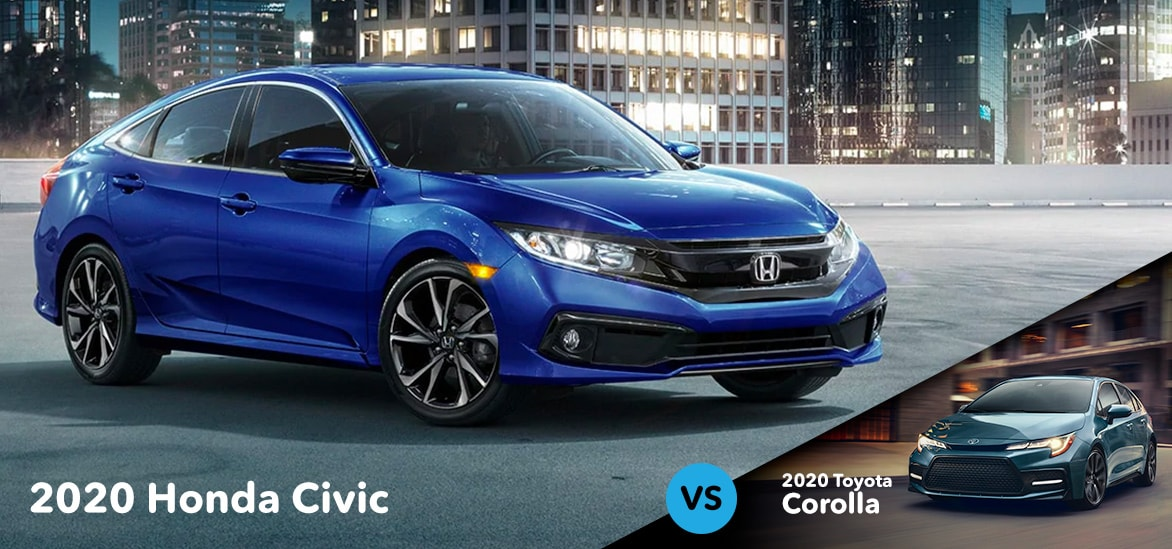 Honda Civic vs Totota Corolla