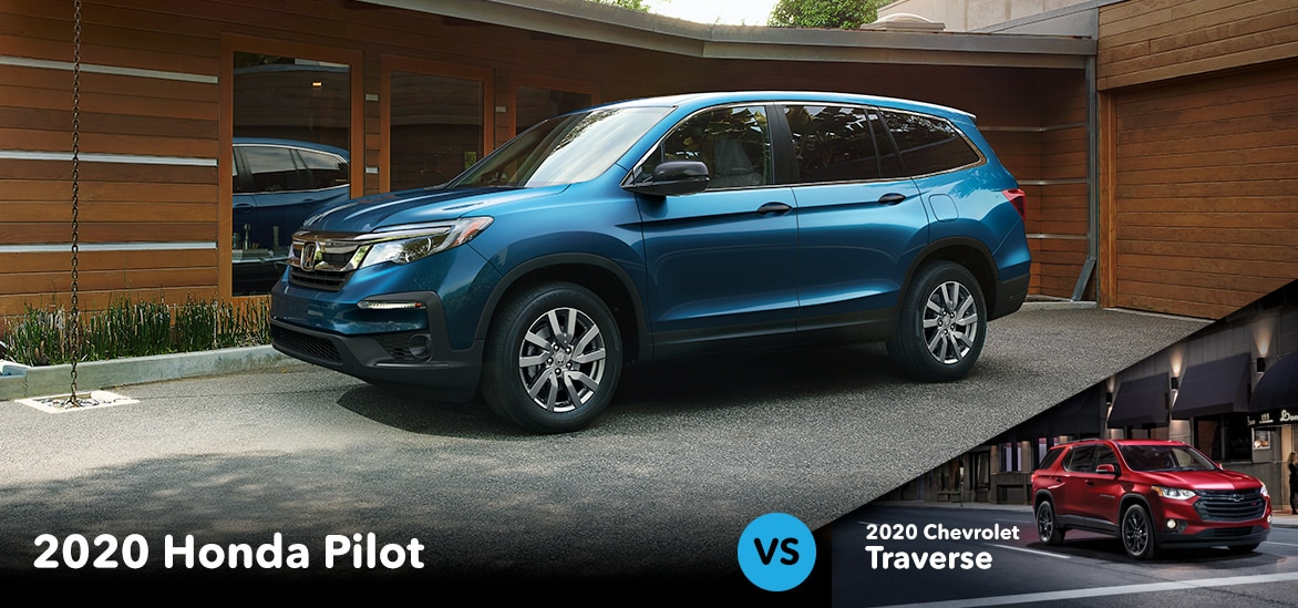 Honda Pilot vs Chevrolet Traverse